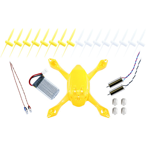 HUBSAN Crash Pack for H108 SYPDER Quadcopter (White/Yellow)