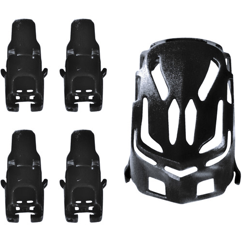 HUBSAN Body Shell and Motor Supports for Q4 Nano H111 Quadcopter (Black)