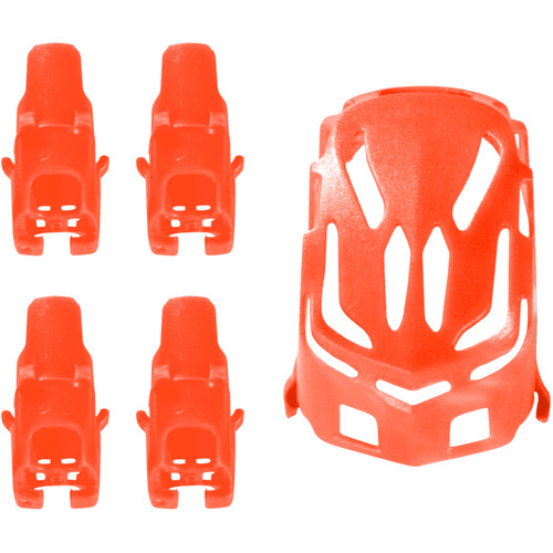 HUBSAN Body Shell and Motor Supports for Q4 Nano H111 Quadcopter (Red)