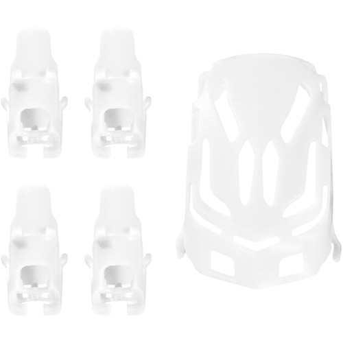 HUBSAN Body Shell and Motor Supports for Q4 Nano H111 Quadcopter (White)