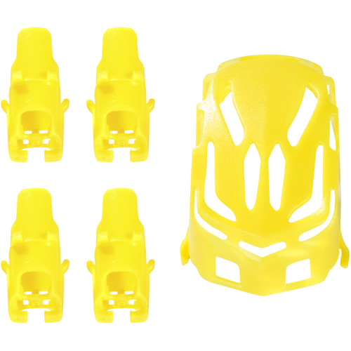 HUBSAN Body Shell and Motor Supports for Q4 Nano H111 Quadcopter (Yellow)