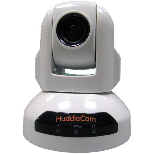 HuddleCamHD 10x 720p 2.1MP Indoor USB 2.0 PTZ Camera (White)