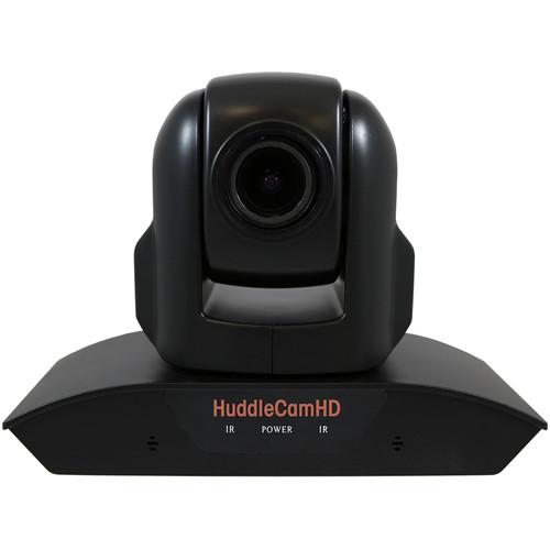 HuddleCamHD 10XA 1080p PTZ Camera with Built-In Audio (Black)