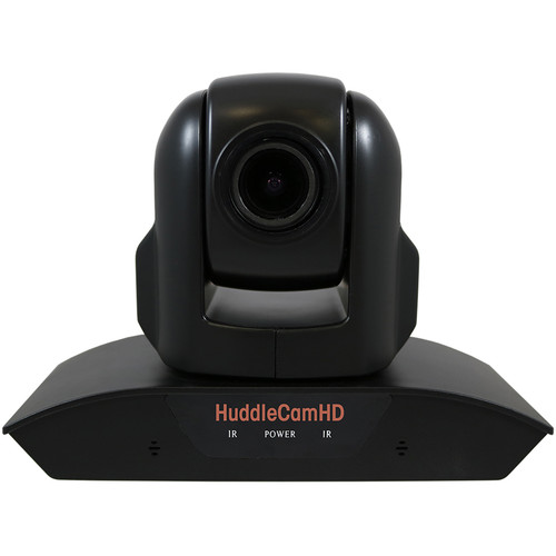 HuddleCamHD 10XA 1080p PTZ Camera with Built-In Audio (Black)