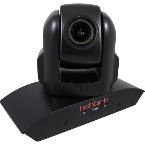 HuddleCamHD HC3XA USB 2.0 PTZ Conferencing Camera with 3x Optical Zoom, 1920 x 1080p, 74° FOV Lens (Black)