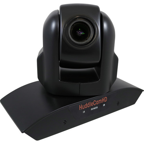HuddleCamHD HC3XA USB 2.0 PTZ Conferencing Camera with 3x Optical Zoom, 1920 x 1080p, 74° FOV Lens (Black)