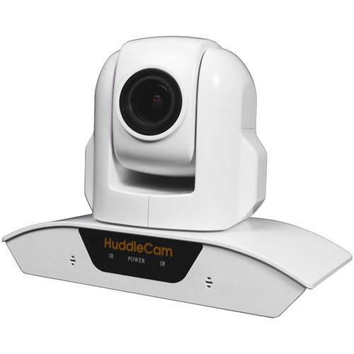 HuddleCamHD HC3XA USB 2.0 PTZ Conferencing Camera with 3x Optical Zoom, 1920 x 1080p, 74° FOV Lens (White)