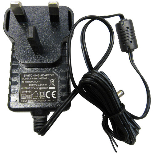 HuddleCamHD Power Supply for 3X/10X-720 PTZ USB Camera (UK Plug)
