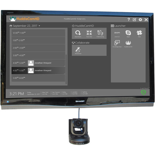 HuddleCamHD Huddlecamhd Team Plus Video Collaboration Solution With Calendar Support