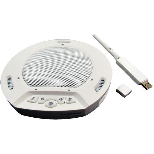 HuddleCamHD HuddlePod Air Wireless USB Speakerphone (White)