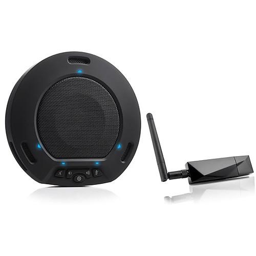 HuddleCamHD HuddlePod Air Wireless USB Speakerphone (Black)
