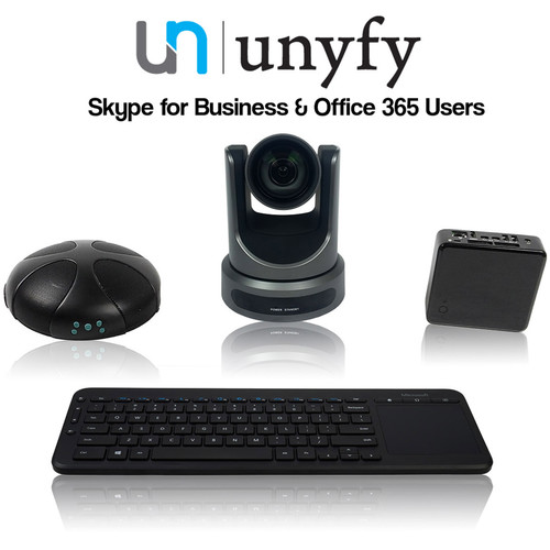 HuddleCamHD Unify BoardRoom Skype-for-Business Video Conferencing System