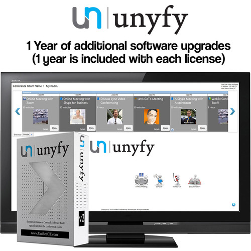 HuddleCamHD One-Year Support and Maintenance for Unyfy Software