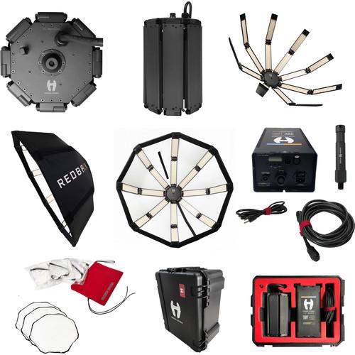 "Hudson Spider Redback 36"" Octagon Parabolic LED Basic Kit"