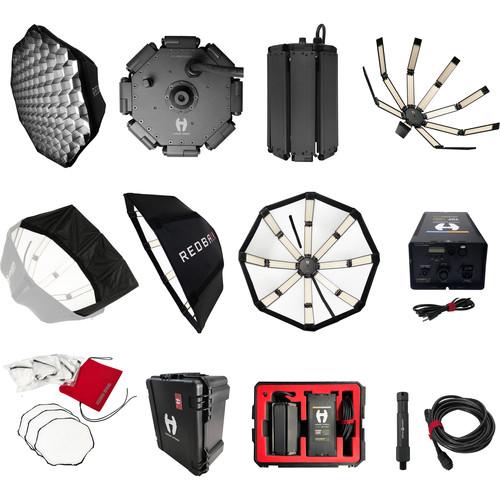 "Hudson Spider Redback 36"" Octagon Parabolic LED Deluxe Kit"