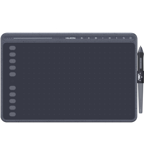Huion Inspiroy HS611 Graphic Drawing Pen Tablet (Space Gray)