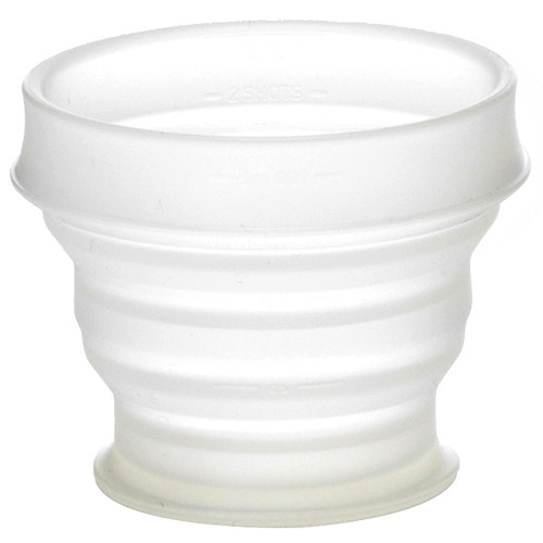 HUMANGEAR Small Collapsible GoCup (4 fl oz, Clear)