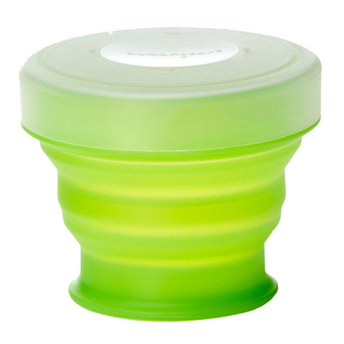 HUMANGEAR Small Collapsible GoCup (4 fl oz, Green)