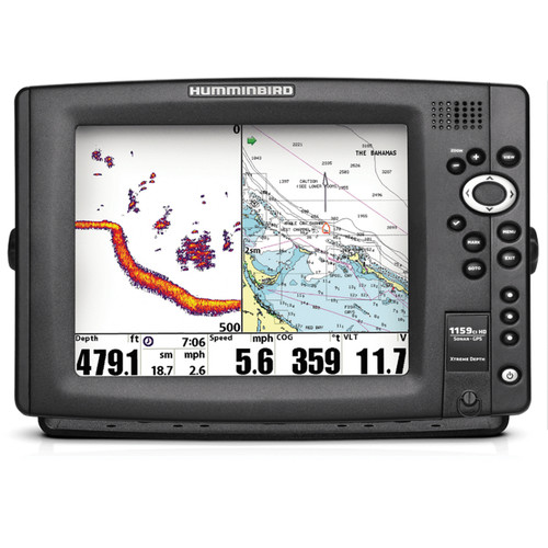 Humminbird 1159ci HD XD Combo Fishfinder