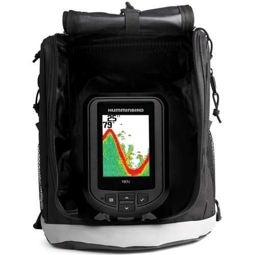 Humminbird PiranhaMax 197C Portable Color Fishfinder