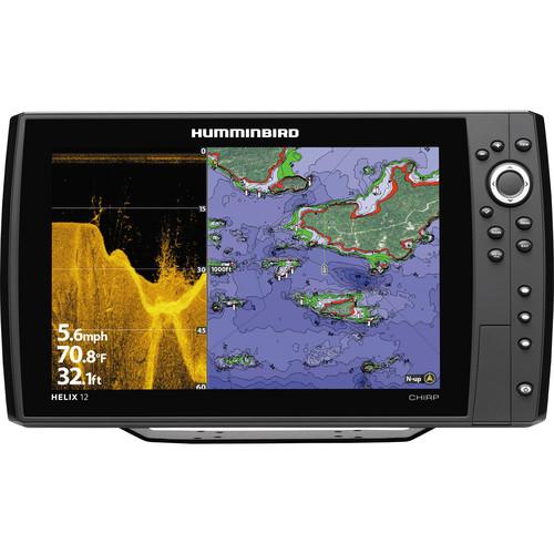 Humminbird Helix 12 DI CHIRP GPS Fishfinder