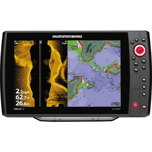 Humminbird Helix 12 SI CHIRP GPS KVD Fishfinder
