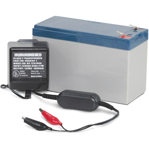 Humminbird GCBK Battery and Charger Kit for PTC U or PTC UNB Portable Case