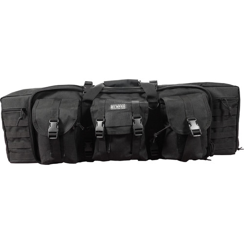 Humvee Double Roll Out Gun Bag (Black)