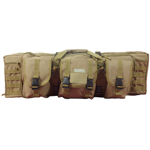 Humvee Double Roll Out Gun Bag (Tan)