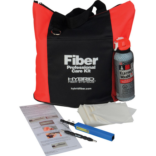 Camplex Fiber Optic Cleaning Kit for LEMO Type SMPTE 304/311M Hybrid Connectors