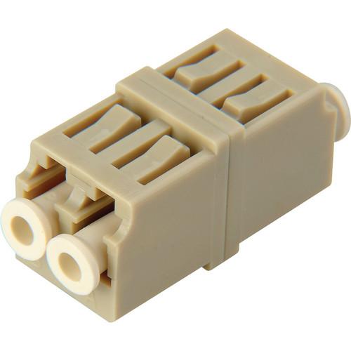 Camplex Multimode Duplex LC to LC Fiber Optic Coupler Adapter (Bronze Sleeve)