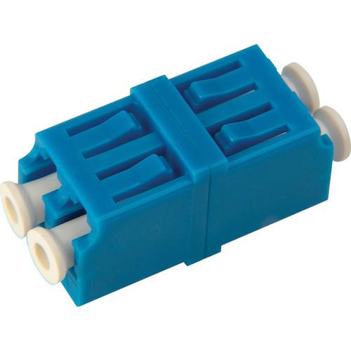 Camplex Singlemode Duplex LC to LC Fiber Optic Coupler Adapter with Flange (Zirconia Sleeve)