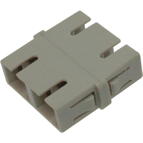 Camplex Multimode Duplex SC to SC Fiber Optic Coupler Adapter (Bronze Sleeve)