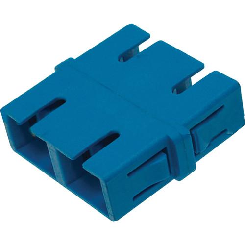 Camplex Singlemode Duplex SC to SC Fiber Optic Coupler Adapter (Flangeless)