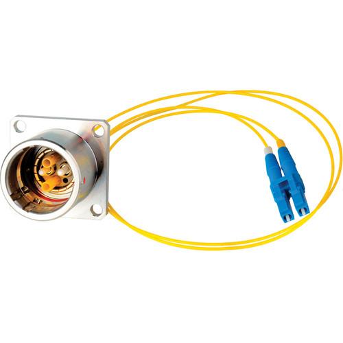 "Camplex 6"" Lemo EDW to Duplex LC Fiber Optic Breakout Cable"