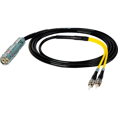 Camplex 6' Lemo FUW to Duplex ST Fiber In-Line Breakout Cable