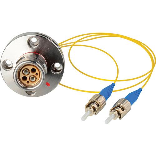 """Camplex 6"""" Lemo FXW to Duplex ST Fiber Internal Distribution Breakout Cable"""
