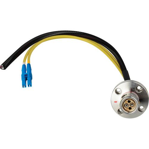 """Camplex 6"""" LEMO FXW to Duplex LC Fiber & Blunt Lead Power Breakout Cable"""