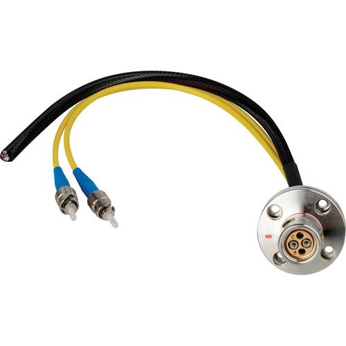 """Camplex 6"""" LEMO FXW to Duplex ST Fiber & Blunt Lead Power Breakout Cable"""