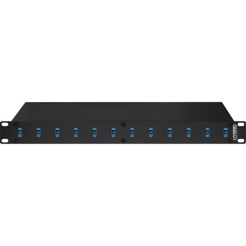 Camplex 12-Port SC to SC Optic Fiber Feedthru Rackmount Cabinet