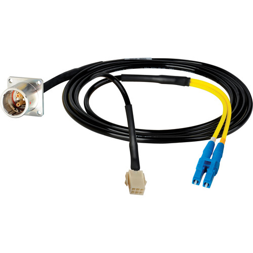 Camplex 6' Lemo PBW to Duplex LC Fiber & 6-Pin AMP Power Inline Breakout Cable