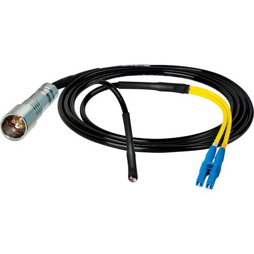 Camplex 6' Lemo PUW to Duplex LC Fiber & Blunt Power Lead Inline Breakout Cable