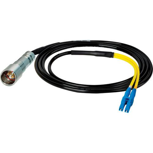 Camplex 6' Lemo PUW to Duplex LC Fiber Inline Breakout Cable