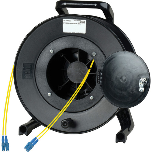 Camplex Duplex LC Single-Mode Fiber Optic Tactical Snake Reel (250')