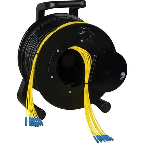 Camplex 8-Channel LC Single-Mode Fiber Tactical Reel (500')