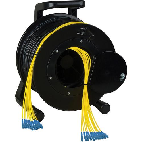 Camplex 12-Channel LC Single-Mode Fiber Tactical Reel (250')