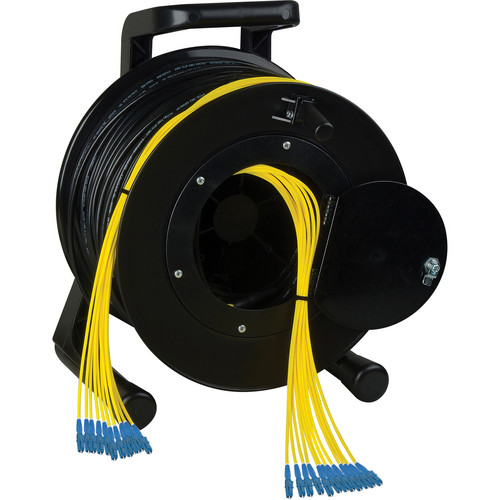 Camplex 12-Channel LC Single-Mode Fiber Tactical Reel (1750')