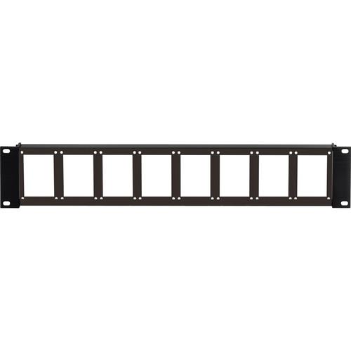 Camplex 90 2RU 8-Position Empty Rack Frame (Flat Front)