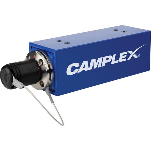 Camplex SMPTE 311M to Duplex ST Male Fiber Optic Adapter