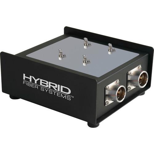 Camplex 2-Channel Female SMPTE 311M Hybrid Fiber To Duplex ST Fiber Optic Breakout Box